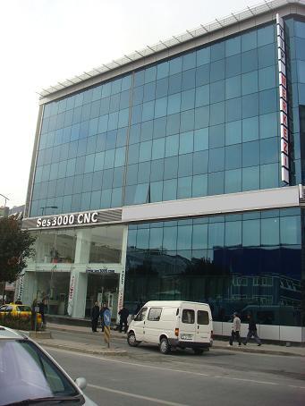 Ses3000 CNC İstanbul Merkez Ofisi